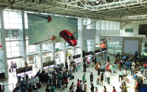 Renault Kwid makes a bold statement at Mumbai airport
