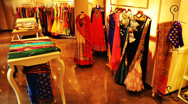 Designer Indian Clothing Stores Delhi The store showcases collection