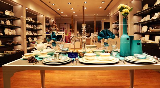 villeroy boch opens new store at dlf emporio new delhi. Black Bedroom Furniture Sets. Home Design Ideas