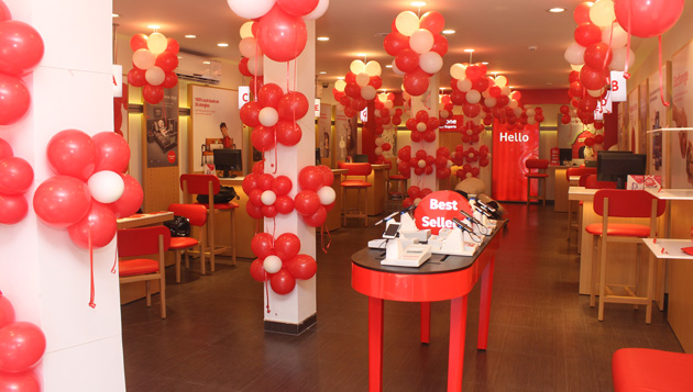 Vodafone launches second global design store in Kolkata