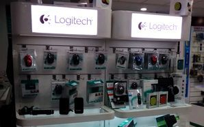 Logitech creates high impact with new signages