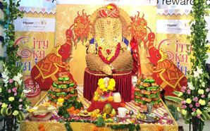 HyperCITY creates a biscuit avatar of Lord Ganesh