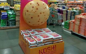 KOSH's roti attraction in stores