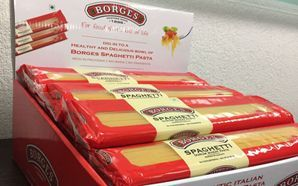 Borges Spaghetti gains visibility with its display stands