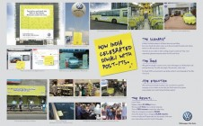 Volkswagen 	- Post it - Gold - OAA 2013