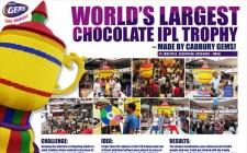 Cadbury Gems- IPL Trophy