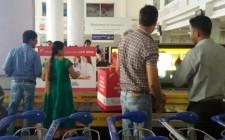 Apple Boxes @ Mumbai Airport Conveyor - New Age Wockhardt Hospitals