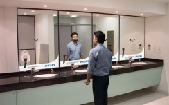 India's First Instant Shaving Experience in an OOH Environment - Philips Trimmer