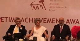 Roda Mehta felicitated with AAAI Lifetime Achievement Award
