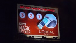 L'Oreal showcases the 'Magic Touch' in the outdoor, uses innovations to drive product awareness