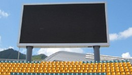 HD technologies showcase in-stadia branding at India-SL Test matches