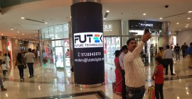 Futek Digital introduces 360 degree digital screens inside Ambience Mall, Gurugram