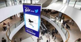 Australia'a doohfa brings together Nestlé's Felix, Twitter on DOOH