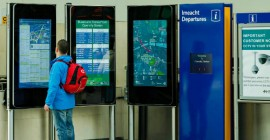 Larger screens enable global public display revenue to grow 18% CAGR: IHS Markit