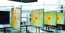 LG showcases OLED Video Wall at 2017 CEDIA trade show