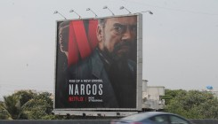 Netflix goes outdoor for the build-up to 'Narcos' launch