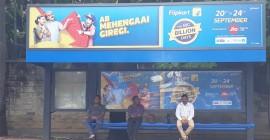 Flipkart goes big on OOH for strong build-up to 'Big Billion Days'