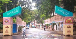 Pantaloons adorned Kolkata streets with magnificent 'Alpana'