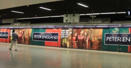 Peter England drives fashionable campaign with metro branding
