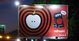 Appy makes a big splash on OOH canvas in a new avatar