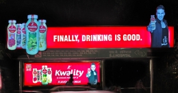 Kwality promotes the goodness of healthy drinking