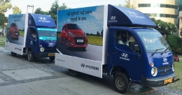 Hyundai Motor India rides into rural markets with a caravan & compelling offers