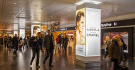 Chanel checks into Munich Airport to promote new fragrance