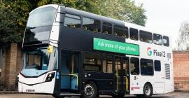 Google boards Exterion Media digital bus to promote Pixel 2