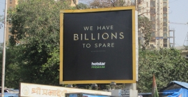 Hotstar finds 'Billions' of ways to engage OOH audience