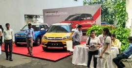 Maruti Suzuki unveils new Vitara Breeza, Dzire model in Kolkata with fun activities