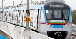 PM Narendra Modi inaugurates Hyderabad Metro Rail