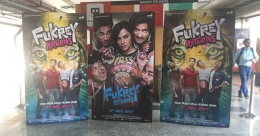 'Fukrey Returns' lead actors board Mumbai Metro for movie promotion