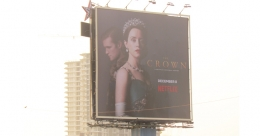 With 'The Crown', Netflix dominates Western Mumbai OOH