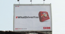 #WhatDrivesYou asks Exide Battery in multi-market OOH campaign