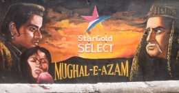 Star Gold Select HD depicts Mughal-E-Azam innovatively in the outdoor
