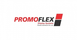 Promoflex Display System building Jaipur Metro advertising formats