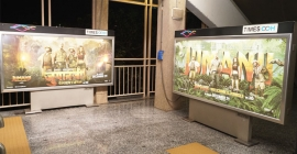 Sony Pictures creates a jungle at Mumbai Metro station