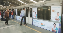 IDBI Federal Life sprints the Marathon on Kolkata Metro