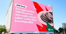 Spotify sets the tone for 2018 in the spirit of 'hope and optmism'