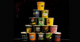 GingerCup promotes inventive paper cup branding