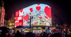 Ocean Outdoor, Landsec share the Chubby Hearts London love