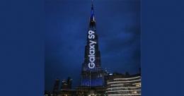 Samsung first to use Burj Khalifa LED facade