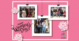 Women outdoorians celebrate Women's Day with zest