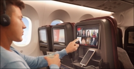oOh!media wins global ad rights to Qantas inflight entertainment