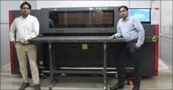 Aarkay Universal installs Efi-H1625 LED UV inkjet hybrid printer