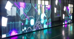 Transparent LED screens hold promise for OOH