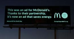 DDB San Francisco showcases a green billboard display