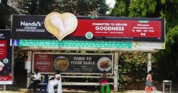 Nandu's Chicken beckons customers in a 'hearty' manner