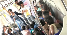 DMRC promotes environment awareness among school kids