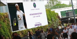 Ocean to beam Wimbledon Finals matches live on its new full motion screen in Westfield Square